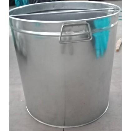 Metallogy 40 Litres 2 Side Stainless Steel Boiler Water Drum Storage Tank - S-001