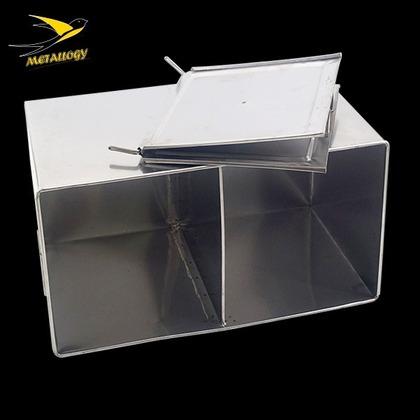 Metallogy 30-40 Litre Stainless Steel Boiler Water Drum & Stand Storage Water In Kitchen Kopitiam Barrel Bucket Water Storage/Tong Bekas Air Panas