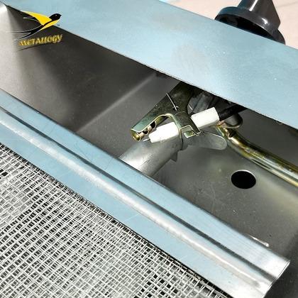 Metallogy BBQ Grill - BBQ SG 005