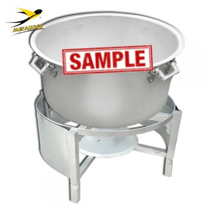 Metallogy Water Boiler Drum Stand - K-2513